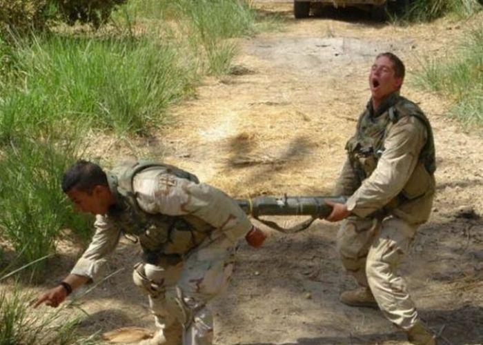 Забавные армейские будни (29 фото)
