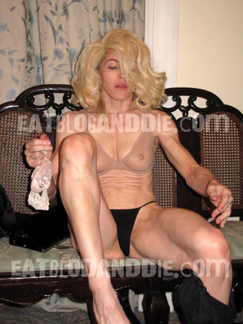 Мадонна без фотошопа (6 фото)