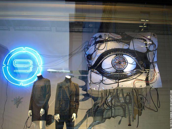 Инсталляция в ЦУМе (13 фото)