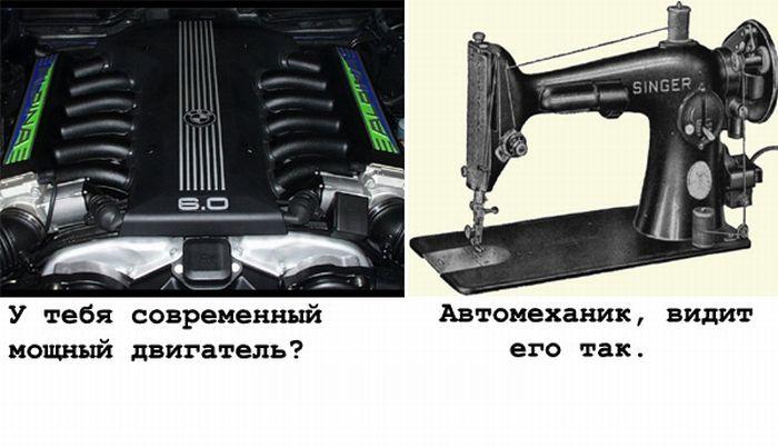 Автомобиль вашими глазами и окружающих (12 картинок)