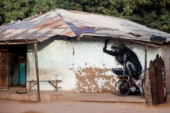 Уличное искусство Африки (15 фото)