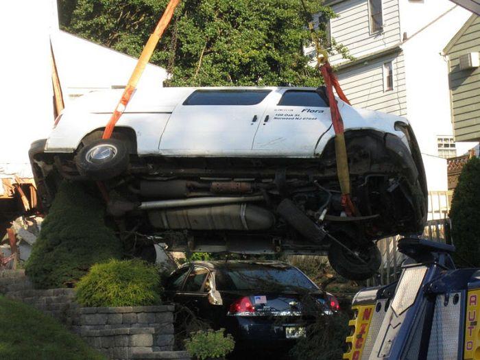 Серьезная авария (9 фото)