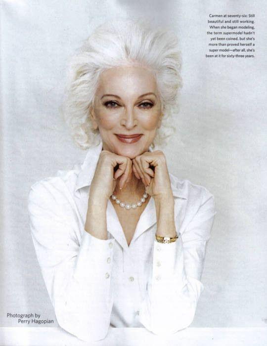 Кармен Орефайс - самая пожилая модель (16 фото)