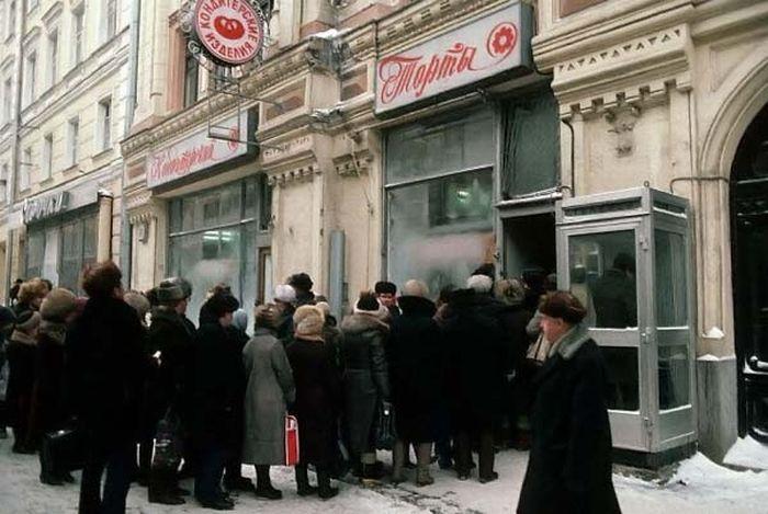 Дефицит в СССР (18 фото)