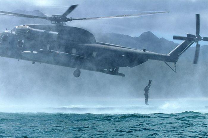 Прыжки с вертолета (27 фото)