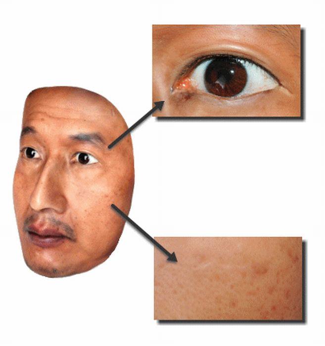 Реалистичная 3D-маска (13 фото)