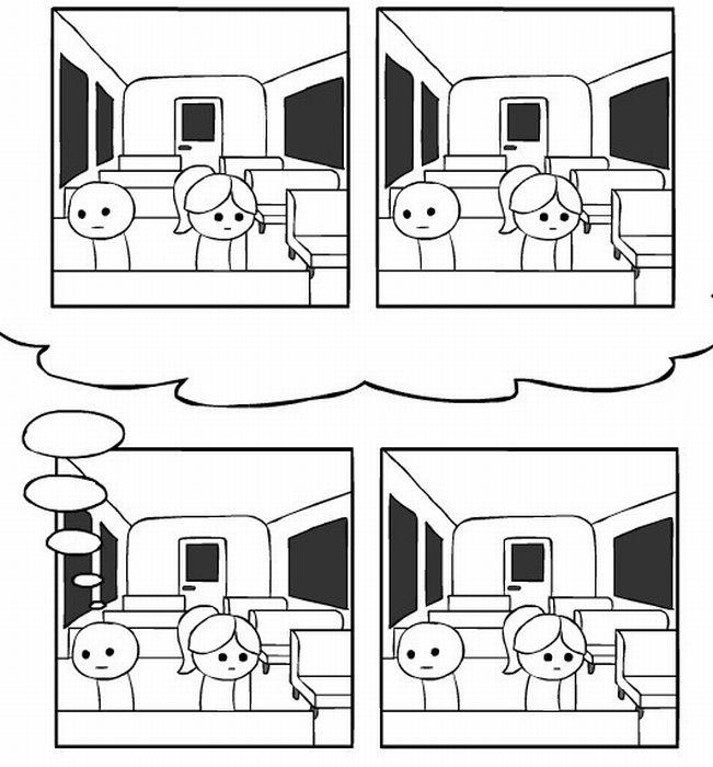 Несостоявшееся знакомство (13 картинок)