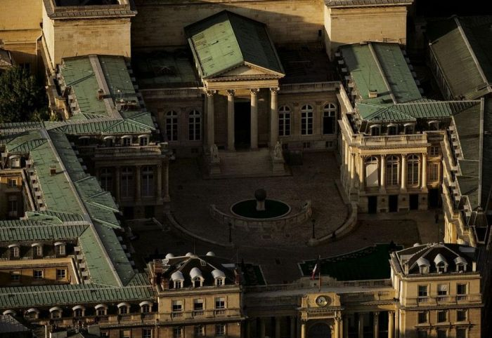 Париж с высоты птичьего полета (180 фото)