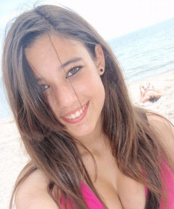 Энджи Варона - красавица из соц. сети (46 фото)