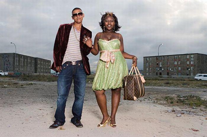 Выпускники Южно-Африканских трущоб (14 фото)