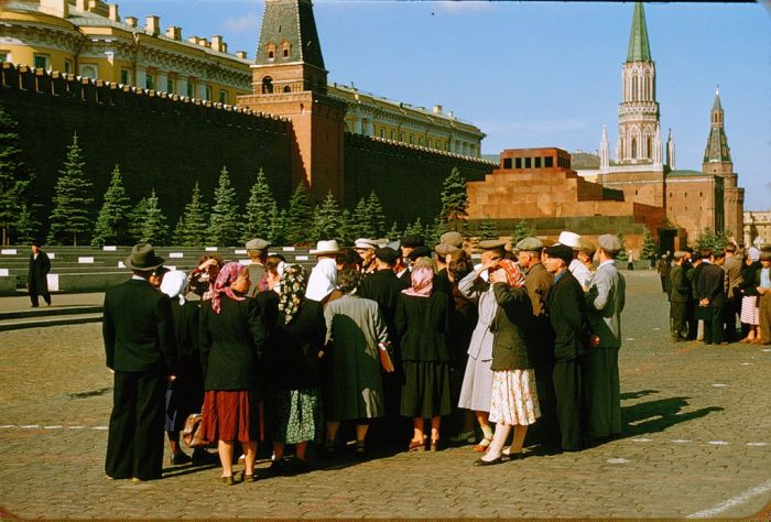 Москва глазами француза (1956 год) (38 фото)