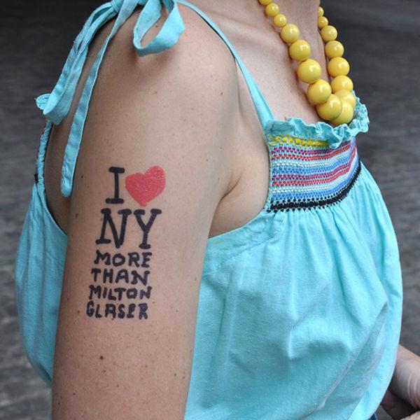 Временные татуировки (22 фото)