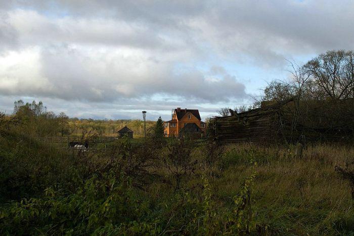 Чухраи - вымирающая деревня (35 фото)