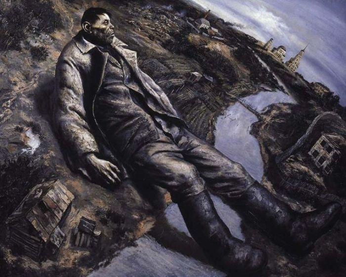 Россия глазами Василия Шульженко (29 рисунков)