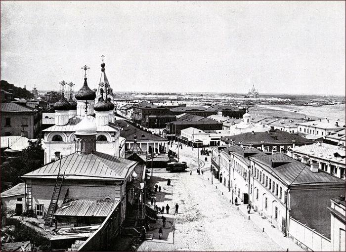 Нижний Новгород тогда и сейчас (40 фото)