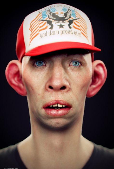 3D-портреты (25 фото)
