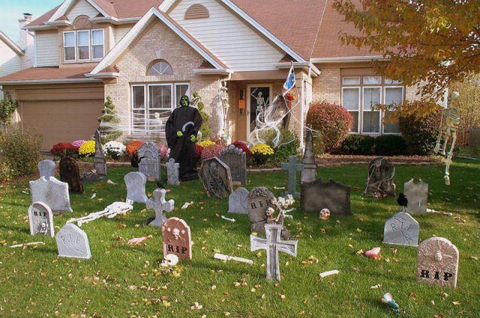 Подготовка к Хэллоуину (30 фото)