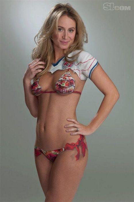 Сексуальный бодиарт (52 фото)