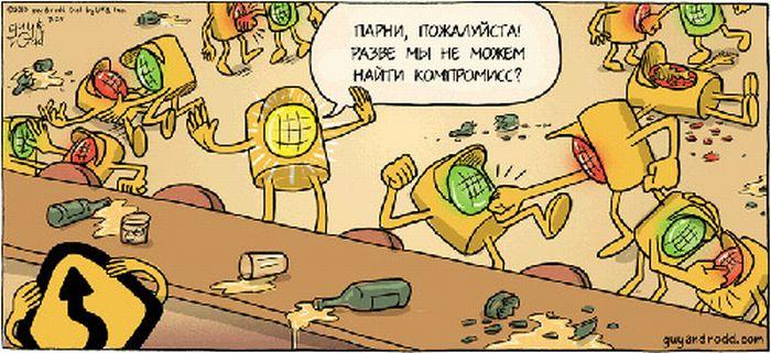 Забавные комиксы Guy & Rodd (90 фото)
