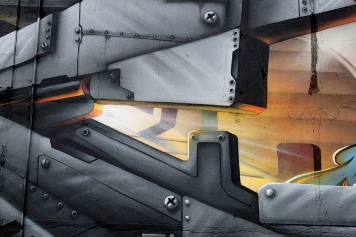 Огромное граффити от Mad C (20 фото)