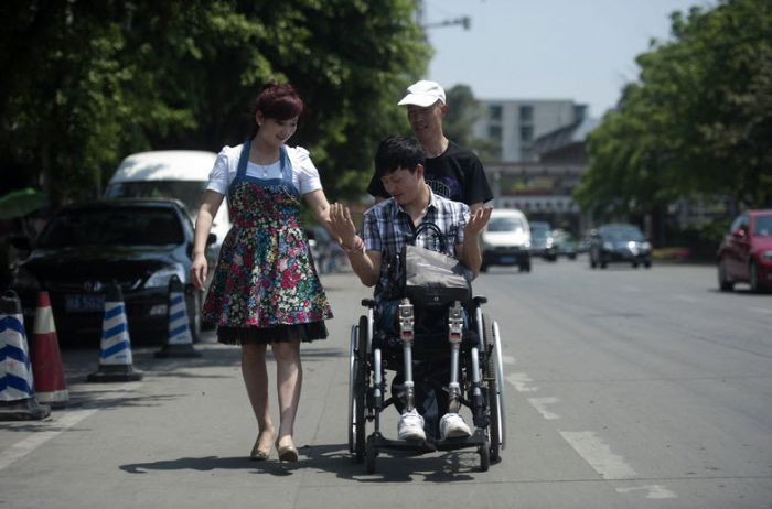"""Фотографии из серии """"Сильные люди"""" (19 фото)"""