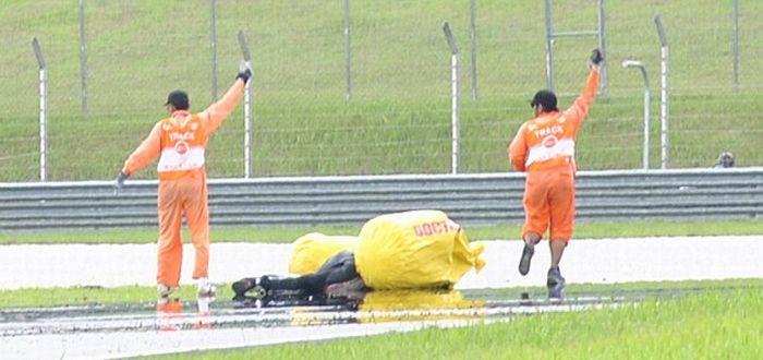 Трагедия на гонках MotoGP в Малайзии (14 фото + видео)