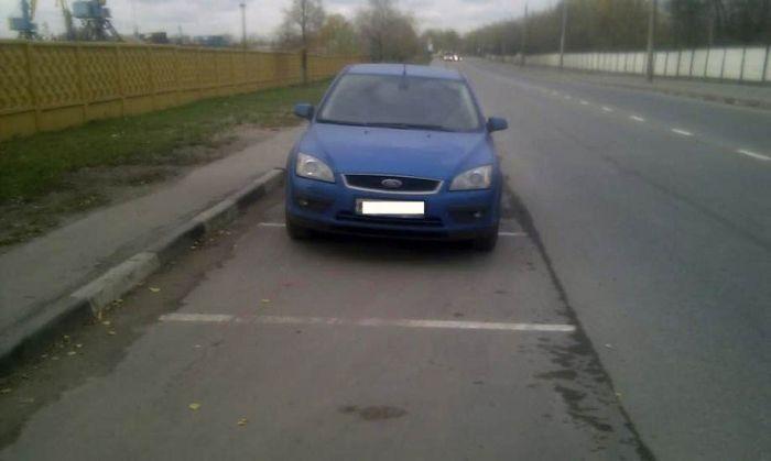 Московские парковки (15 фото)