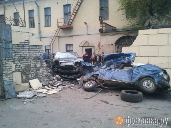 Питерская авария (7 фото)