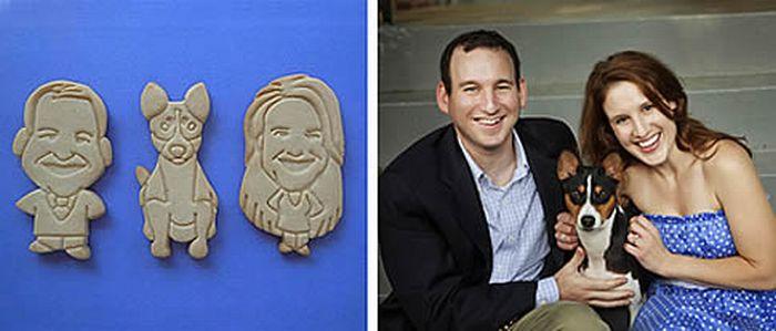 Портреты на печенье (13 фото)