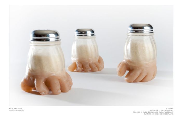 Страшный кухонный набор (18 фото)