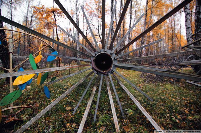 Таинственная находка в лесу (28 фото)