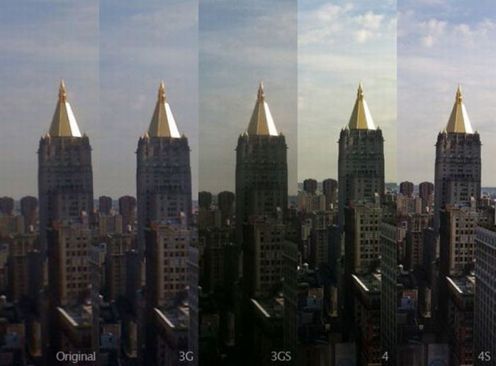 Эволюция фотокамеры iPhone (12 фото)
