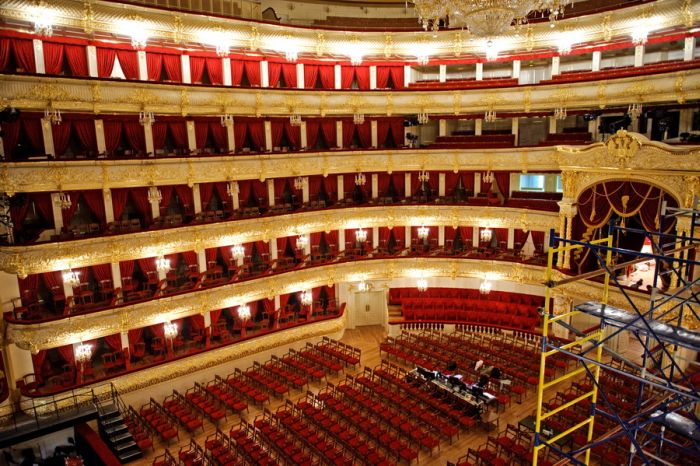 Большой Академический Театр готовится к открытию (49 фото)
