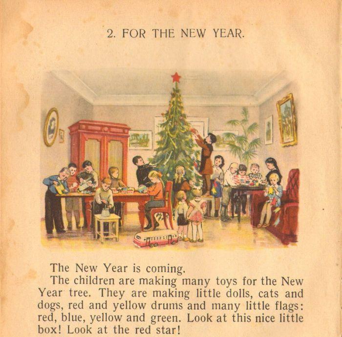 Рассказ на английском о новом годе в россии