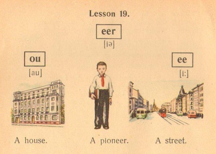 Учебник английского языка 1953 года (16 фото)