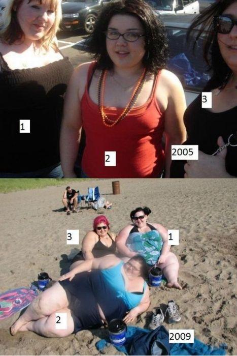 Девушки, которые потолстели. Часть 3 (28 фото)