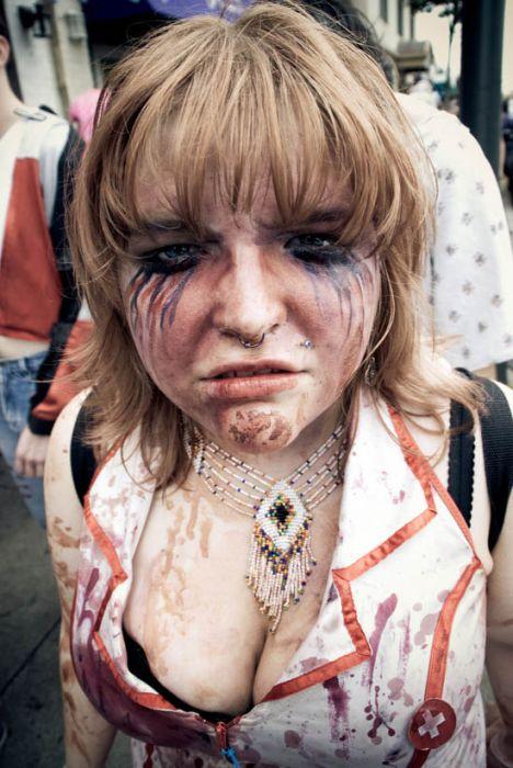 Девушки-зомби (48 фото)