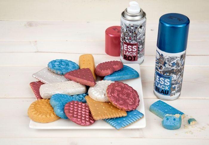 Краска для еды (7 фото)