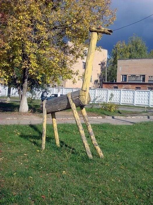 Скульптуры детского городка (72 фото)