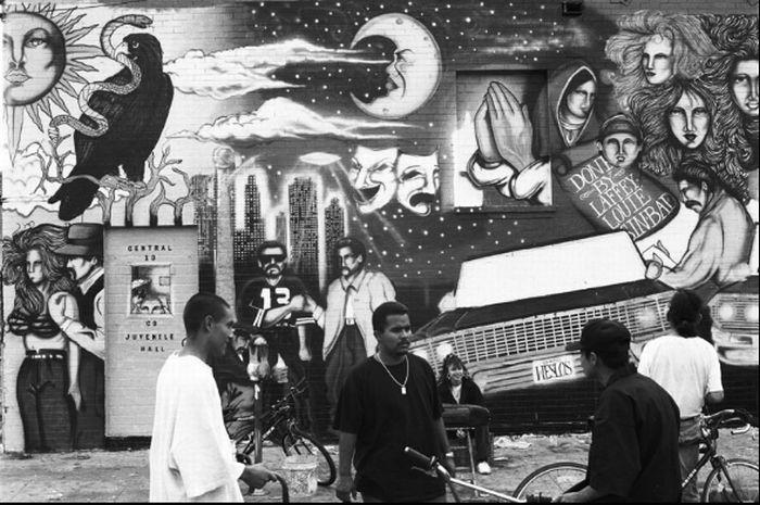 Банды Лос-Анджелеса (37 фото)