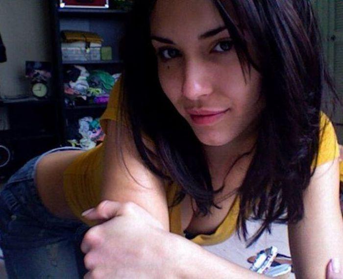 Фото девушек в домашних условиях из соц сетей 669