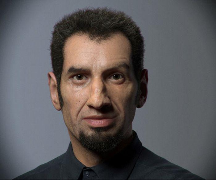 Цифровые портреты (64 фото)