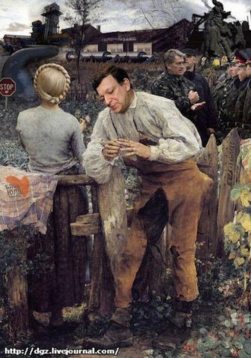 Карикатуры про политиков (20 фото)