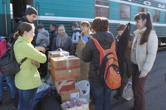 Волонтеры (39 фото)