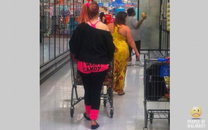 Смешные люди из супермаркетов. Часть 12 (55 фото)