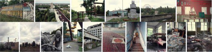 Туристическая зона из Чернобыля (22 фото)