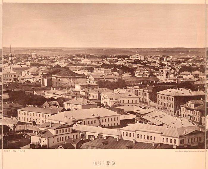 Вид на Москву с Храма Христа Спасителя (14 фото)