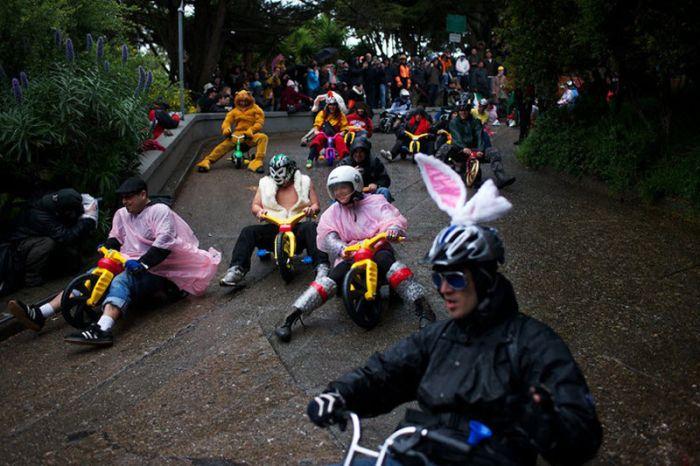 Самые странные виды спорта (44 фото)