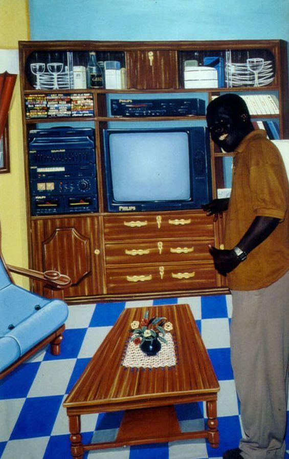 Нарисованная роскошь Ганы (8 фото)