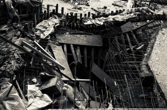 """Заброшенный """"Аквадром"""" (27 фото)"""